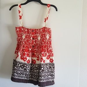 Roxy Halter Top Size Large